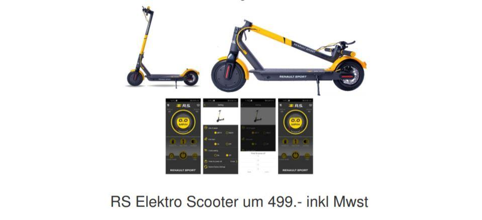 Scooter start